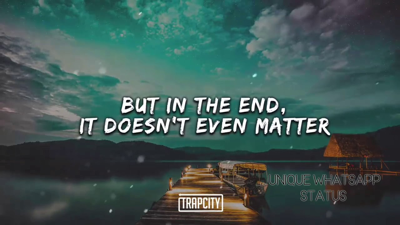 In The End Linkin Park WhatsApp Status |I Tried So Hard And Got So Far |In  the end it Doesn't Even