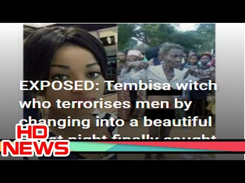 Tembisa witch who terrorises men by changing into a beautiful girl at night nally caught