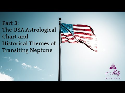 Part 3: 🇺🇲 USA Astrology Chart And Historical Themes Of Transiting Neptune ~ 2021 To 2023 Astrology