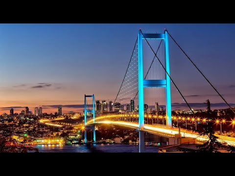 ISTANBUL:  Driving from Europe to Asia over the Second Bosporus Bridge