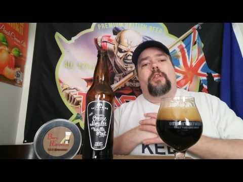 Booze shorty - Saltspring Island Brewery - Creme Brulee Vanilla Stout