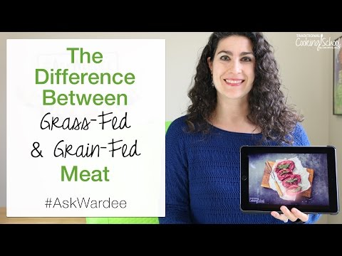 The Difference Between Grass-Fed & Grain-Fed Meat | #AskWardee 073