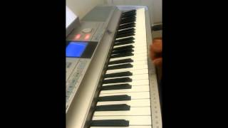 Ennodu Va Va on Keyboard with Chords