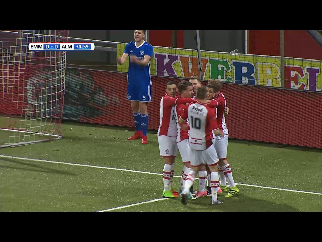 Samenvatting: FC Emmen - Almere City FC