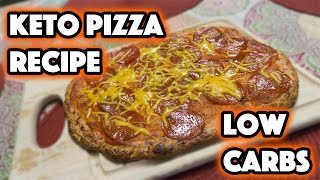 KETO PIZZA RECIPE | LOW CARB