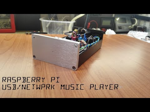 Raspberry Pi Audio Player Construction + Download PCB and Files
