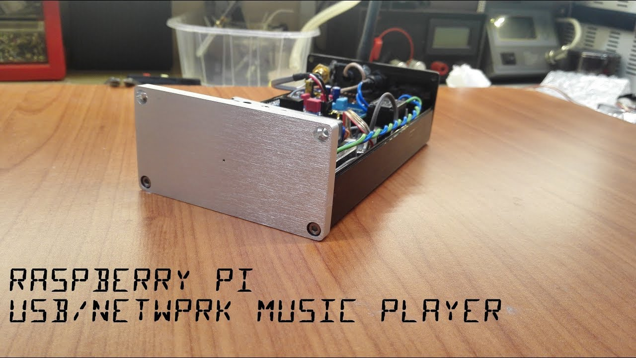 Raspberry Pi Audio Player Construction + Download PCB and