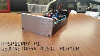 raspberry Pi Audio Player Construction  Download PCB and Files