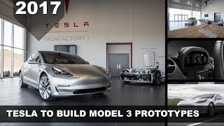 [HOT NEWS] Tesla to Build Model 3 Prototypes