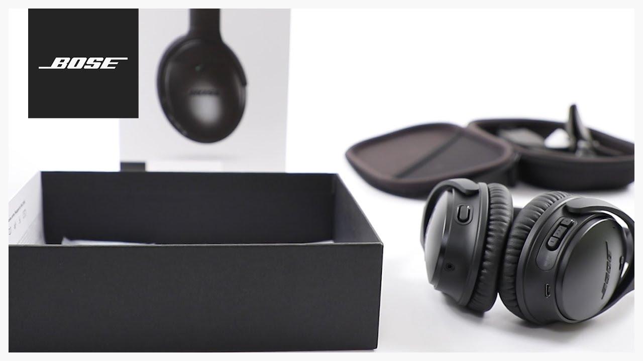 Bose QuietComfort 35 II – Unboxing + Setup