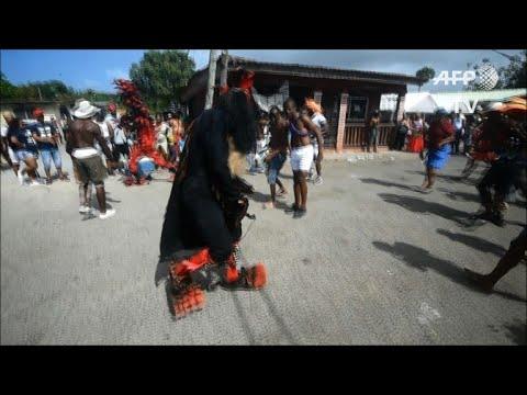 Panama celebrates 'Devils and Congos' festival