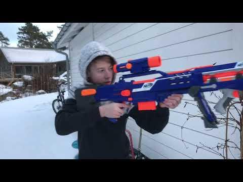 Nerf War: Sniper vs sniper part 2