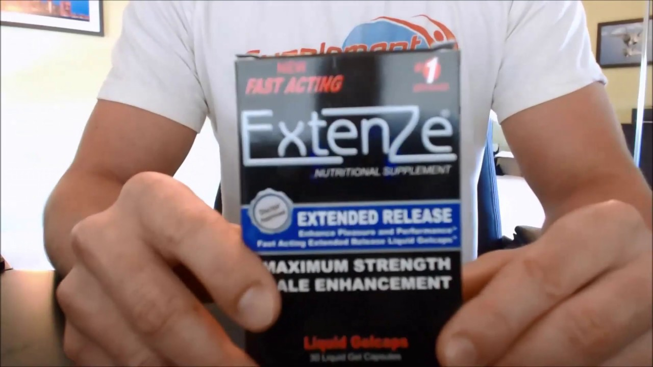 Black Pill Extenze
