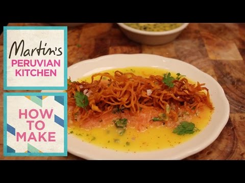Salmon and Passion Fruit Tiradito | Martin Morales & Luiz Hara