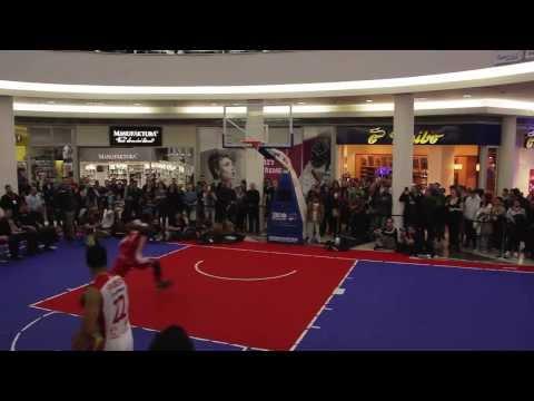 Christian Eyenga - 5 DUNKS - Slam Dunk Contest Pardubice 2014