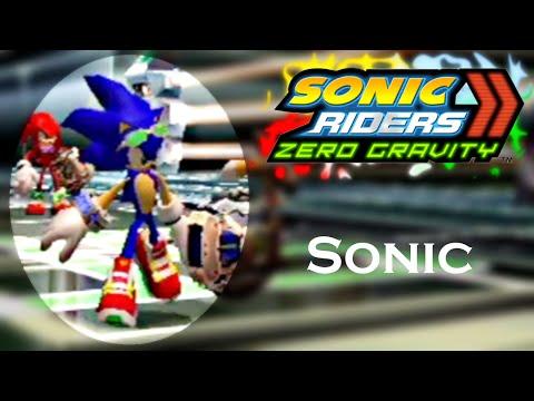 Sonic Riders Zero Gravity WGP - Sonic