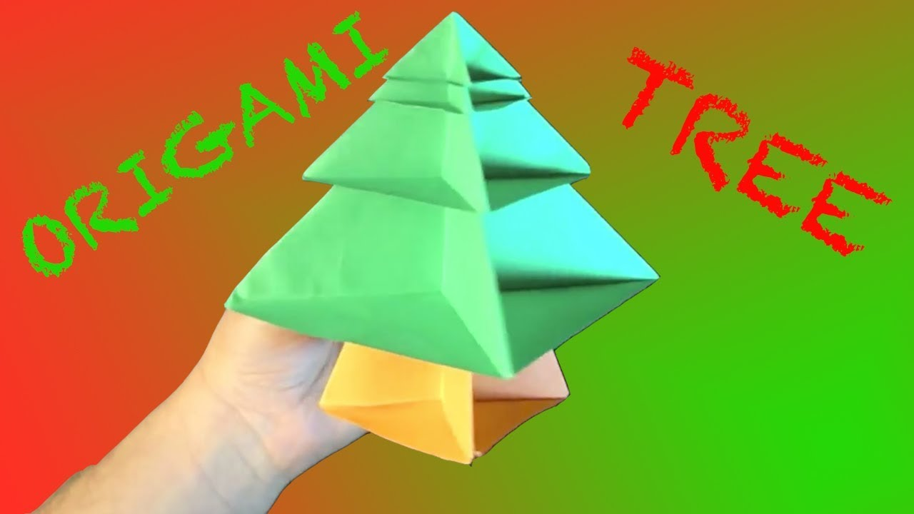 How to make an origami christmas tree modular youtube how to make an origami christmas tree modular robs world jeuxipadfo Image collections
