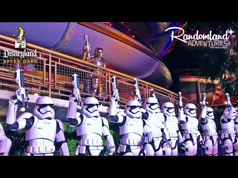 Disneyland's STAR WARS NITE - After Dark Special Event!
