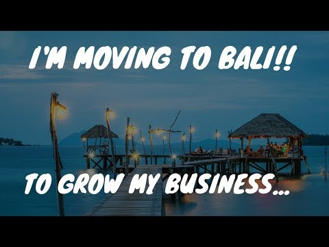 I'M MOVING TO BALI!!!