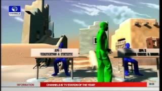 Nigeria 2015 Präsentiert Das A-Z Des Wahlprozesses In Der Animation