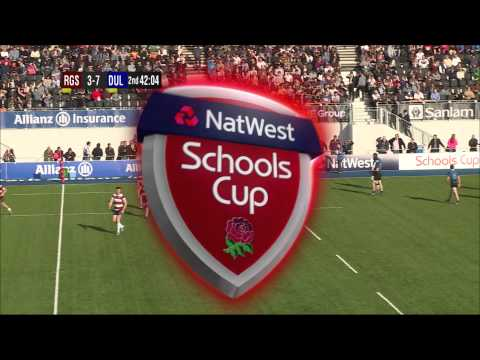 NatWest U18s Cup Semi-Final 2014: RGS High Wycombe v Dulwich