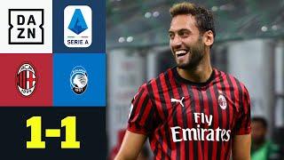 Calhanoglu mit Traum-Freistoßtor: AC Mailand - Atalanta 1:1 | Serie A | DAZN Highlights