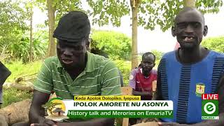 Dolopiiko , Jebentino and Iyepusa on History chat about asonya.