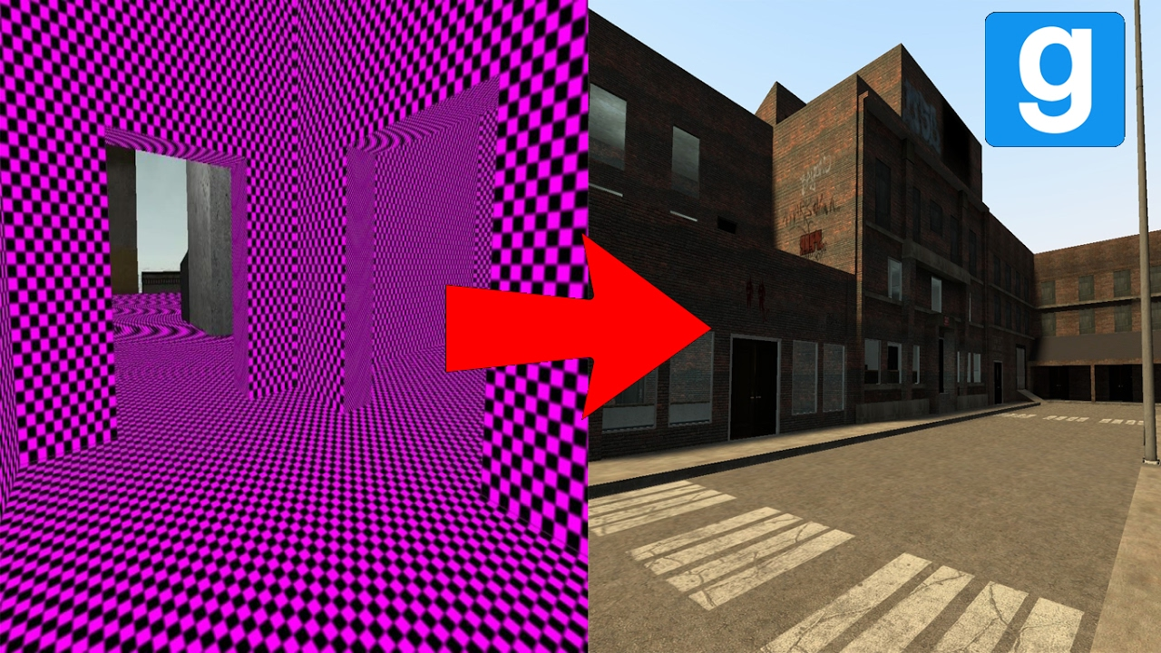 Garry's Mod: How To Fix Missing Textures [Working 2019]