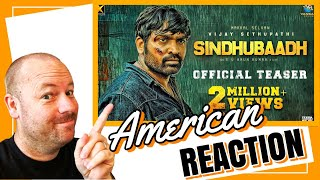 Sindhubaadh Teaser Reaction by American