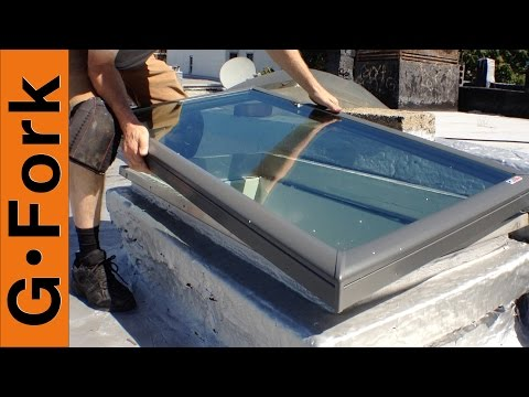 How To Replace A Skylight - GardenFork