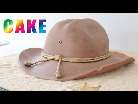 THE WALKING DEAD CAKE Series 7 Carl's Hat How To Cook That Ann Reardon