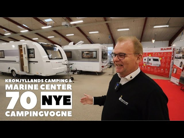 Kronjyllands Camping & Marine Center - Nye campingvogne