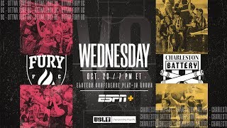 2019 USL Championship Playoffs: Ottawa Fury FC vs. Charleston Battery