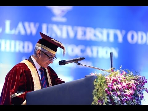 National Law University, Odisha - Convocation 2016
