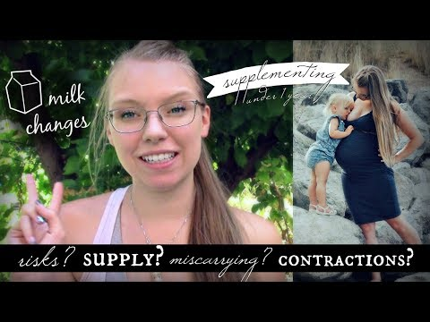 SAFETY & SUPPLY CONCERNS with Breastfeeding During Pregnancy
