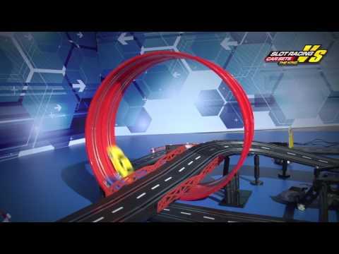 Baisiqi Electric Two Slot Racing Car Overdrive Starter Kit