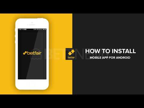 How To Download And Install BETFAIR App For Android - STEPS