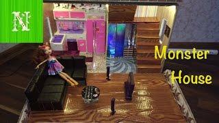 Как сделать дом и мебель для кукол. Monster House своими руками (часть 2)(Рекомендую принять участие в конкурсе )) https://www.youtube.com/watch?v=NQSenAJIfCM&t=1s В этом видео, в режиме слайдшоу показано..., 2016-07-10T08:07:45.000Z)