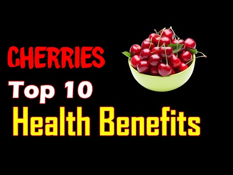 Top 10 Amazing Health Benefits of Cherries | Health Tips 2016