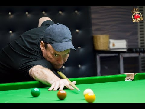 Jimmy White made 109 practicing today @ Hi-End
