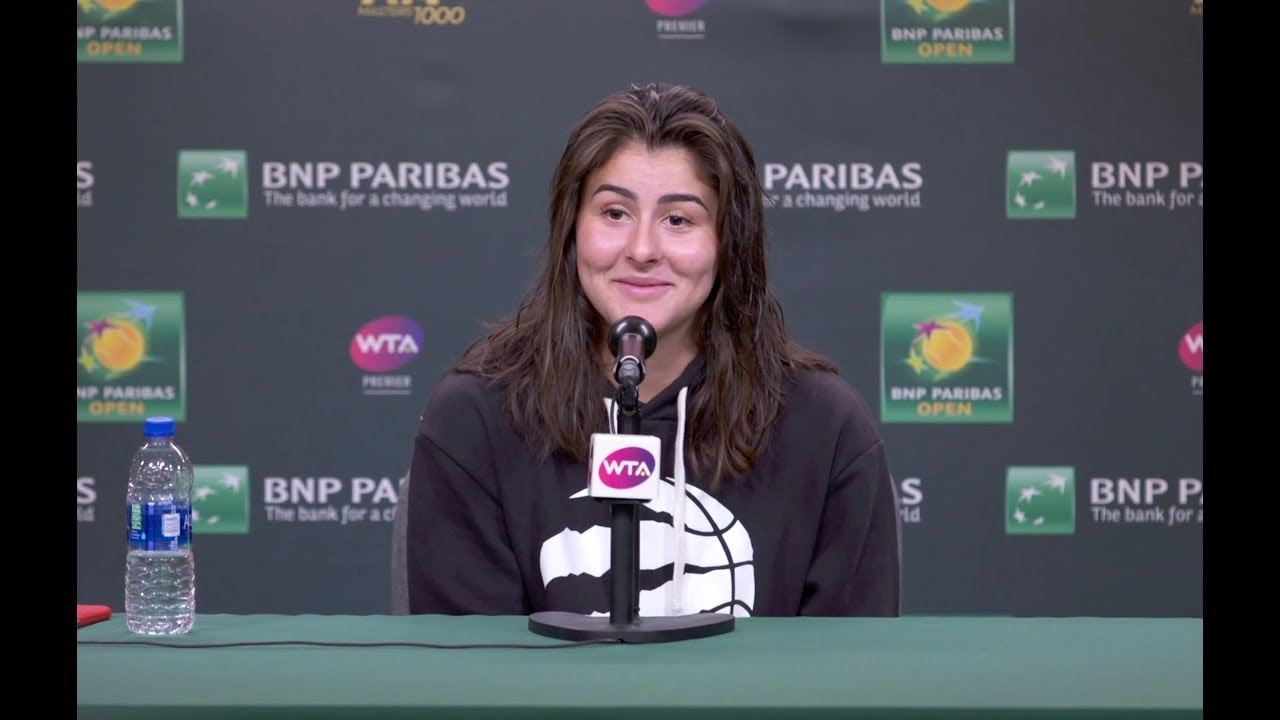 The Stunning Rise of Bianca Andreescu, Who Just Won at Indian Wells