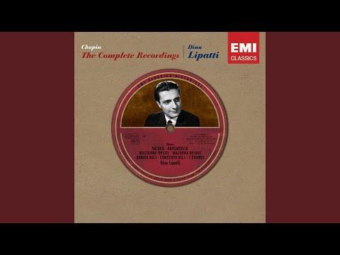 3 Waltzes, Op. 70: No. 2 in F Minor (Tempo giusto)