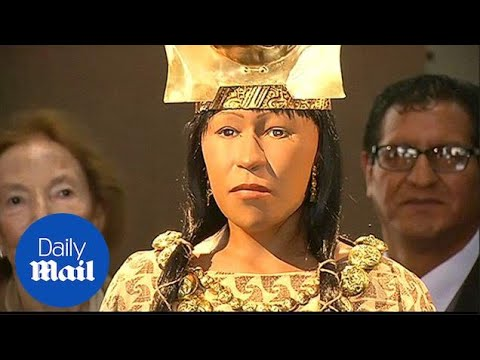 3D imaging creates ancient Peruvian ruler Lady of the Cao replica - Daily Mail