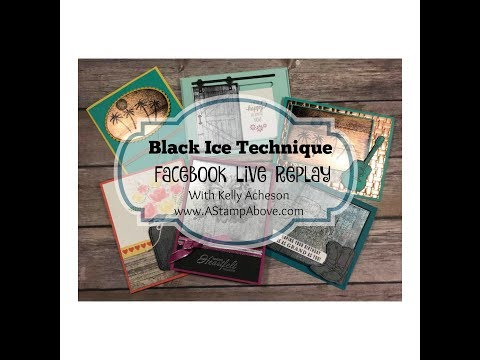 FB LIVE REPLAY 3.18.18- Black Ice Technique