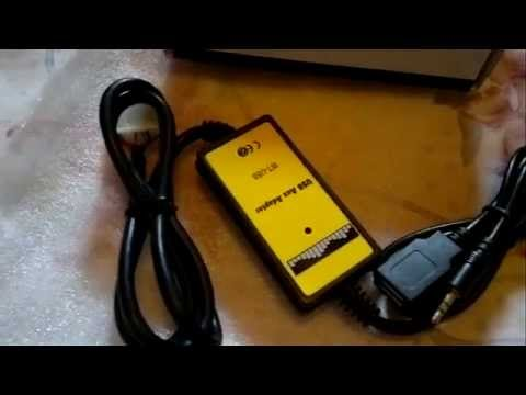 Unboxing Aliexpress USB AUX Mp3 Adapter CD Changer HONDA CIVIC