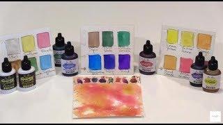 Liquid Magic: Ken Olivers Liquid Watercolors & Sparkles by Joggles.com