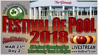 Festival of Pool 2018 - Inter-County Team, Friday, Gleneagles Hotel, Killarney thumbnail