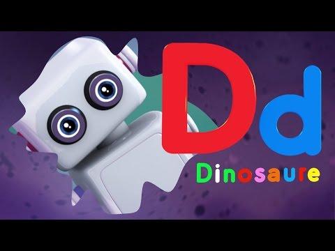 Apprendre l'alphabet - la lettre D... comme Dinosaure