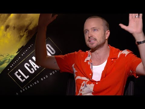 Aaron Paul Talks BREAKING BAD Movie EL CAMINO