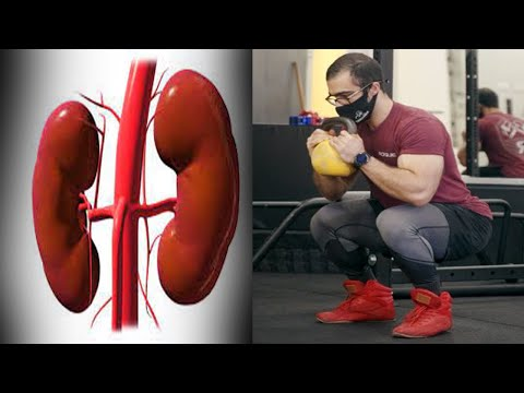 An Athlete Squatted 400 Reps In 20 Minutes. SEE WHAT HAPPEND To His Kidneys